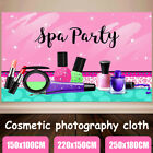 Cosmetic Photography Backdrop Woodland Make-up Paint Party Background Prop
