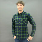 Only  Sons Shirt Chess Carstem 22001926 Blue Mod. 22001926
