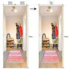 Door Wall 3D PVC Stickers Simulation Arts Stickers Murals Scenery Home Decors