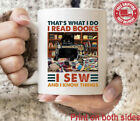 Black Cat That?s What I Do I Read Books I Sew And I Know Things Coffee Mug