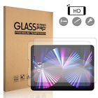 For iPad Pro 11-inch 2021/2020/2018 Clear Tempered Glass Screen Protector Film