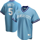 George Brett Kansas City Royals Nike Road Cooperstown Collection Player Jersey
