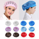 Unisex Elastic Canteen Breathable Mesh Catering Cap Hat