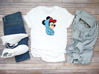 Mickey Mouse, characters, Minnie mouse Funny Men's White T Shirt K079