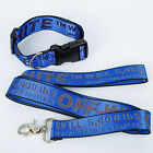 OFF WHITE Industrial Pets Dog Collar Lead Belt Strap Collar Leash Colors Option