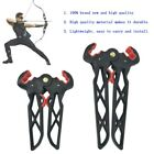 Compound Bow Stand Holder Kick Legs Archery Target Shooting Bow Support A3