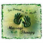 Touch Heal Massage Therapy Licensed hand MT LMT T-Shirt