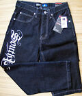 SOUTH POLE RAW INDIGO CORE LOGO DENIM JEANS LIST $44.