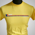 Mad Max MFP Interceptor Retro Movie T Shirt V8 Car Pursuit Yellow