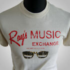 RAYS MUSIC EXCHANGE RETRO T SHIRT THE BLUES BROTHERS MOVIE COOL VINTAGE HIPSTER