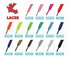 Flat Coloured Skate Shoe Laces Shoelaces (ALL COLOURS )