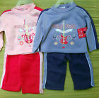 """DIVA BABY """"GIRLS ROCK"""" TWO-PIECE PLAY SET 3/6 & 6/9 MO"""