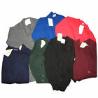 School Uniform Button Knitted Cardigans 8 colours Blue
