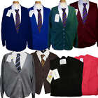 School Uniform Button Knitted Cardigans 9 colours Green
