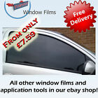 TINT RANGE CAR WINDOW TINTING TINT FILM KIT *ALL SHADES
