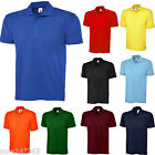 Mens Pique Polo Shirt Size XS to 4XL 200gsm Classic Casual / Sports T-Shirt