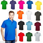 Mens Plain Polo Shirt Pique Size XS to 4XL