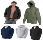 Mens Hooded Sweatshirt Zipped Hoodie 3XL 50 52 XXXL New