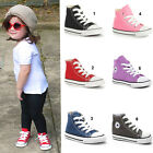 TODDLERS ALL STAR CHUCK TAYLOR CT HI TRAINERS SZ 2-10