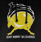 Don't Worry I'm Covered - Condom Hoodie smiley sex new