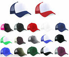 PACK OF 24 TRUCKER CAPS - 17 GREAT COLOURS - NEW STOCK