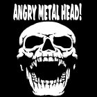 Heavy Metal Skulls Head Rock AC/DC T-Shirt  Angry Metal