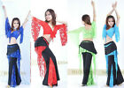 Brand New Belly Dance Costume Top&Pants 11 Color #DG