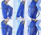 New Belly Dance Bit Bright Lantern Pants 10 Color#DR