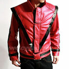 CHILD Michael Jackson MJ Costume Thriller Red Jacket **