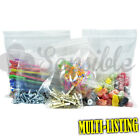 GRIP SEAL - SELF SEAL - RESEALABLE BAGS - MULTI-LISTING