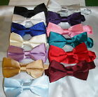 Mens/Boys Satin Bow ties from   £7.25 - 7.50