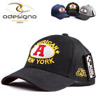 NEW Men  BALL CAP Baseball caps NEW YORK  Black Trucker Hat Black hats