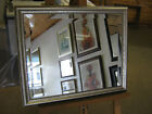 """NEW 1 1/2"""" SLIGHTLY ORNATE SILVER WALL/OVERMANTLE MIRRORS"""