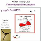 To Granddaughter Poem on a 5x7 Card + Key To My Heart Bonus Necklace Inside