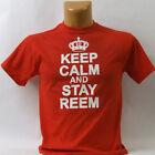 "TOWIE inspired "" KEEP CALM and STAY REEM "" Men's T Shirt  Ladies too!"
