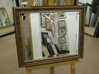 """NEW LARGE 2"""" BROWN MAHOGANY OVERMANTLE WALL MIRRORS - DIRECT FROM MANUFACTURER"""