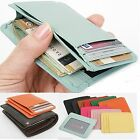 Womens mini wallets Genuine Cowhide Leather Clutch Wallets Cardcase Slim Wallets