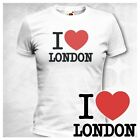 I LOVE LONDON SR Girlie T-Shirt ENGLAND GREAT BRITAIN ny NEW YORK  Größe XS-XL