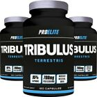 60/120/240 CAPSULES 95% S TRIBULUS TESTOSTERONE NATURAL GROWTH BOOSTER