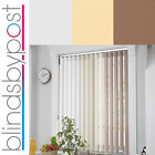 Made to Measure 89mm Vertical Blinds - Unbeatable Quality For Such Cheap Prices!