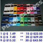 "Plastic Table Cover Cloth Oblong 54"" x 108"" 20 COLOURS BULK BUY SAVINGS FREE P+P"