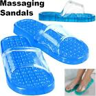 Spa Slipper Accu Massaging Sandals Shower Bath Pool Beach Massage Flip Flops NEW