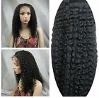 "14""-22"" long Indian Remy Human Hair Lace Front / Full Lace Wig water wave FAST !"