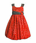 New  Bonnie Jean Girls  Rose Print Special Occasion / Party Dress Age 2-16yrs