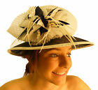 Campbell Cooper New Ladies Large Wedding Races Events Bow Feather Fashion Hat