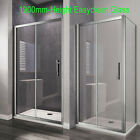 Bathroom Sliding Door Shower Enclosure Screen Cubicle Side Panel And Stone Tray