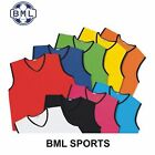 """MESH TRAINING BIB -- SIZE 34/36"""" JUNIOR/YOUTH - 9 colours available"""