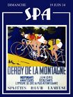 Spa MOUNTAIN Race Bicycle Bike Sport France French Vintage Poster Repo FREE S/H