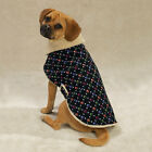 Casual Canine Corduroy Berber Lined Paw Print  Dog Coat Jacket  LIMITED SIZES!