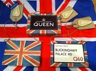 British Union Jack Flag Wooden Hanging Sign Queens Diamond Julilee Olympics 2012